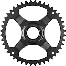 Shimano STEPS E6100 Chainring Cl:46.5mm without chain guard, black